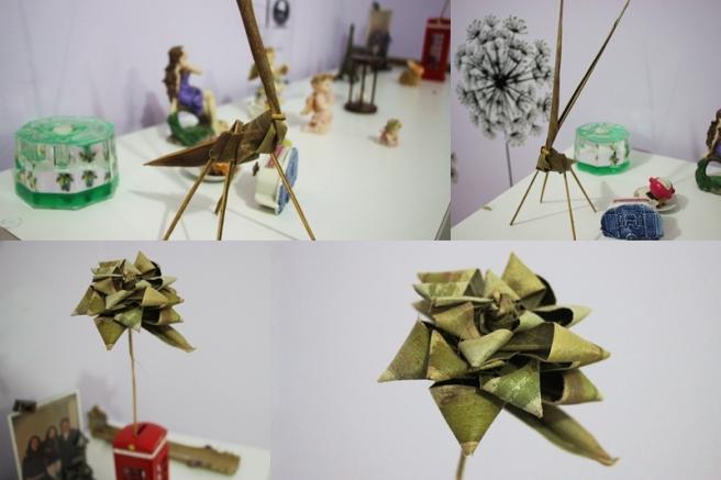 montagem origamis
