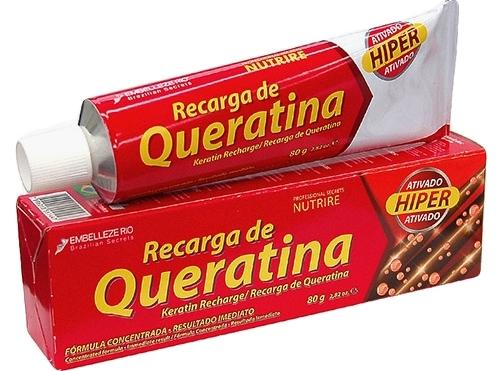 carga queratina