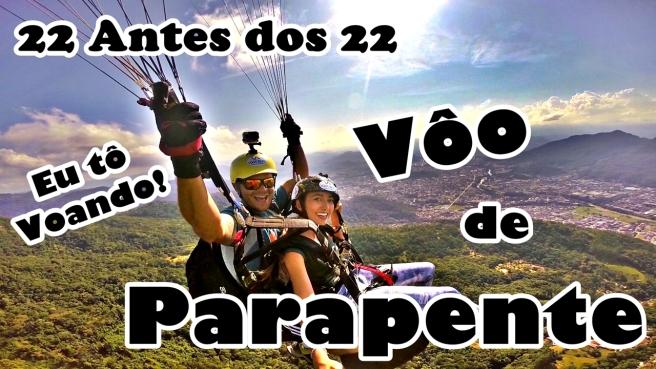 22 antes dos 22 Parapente