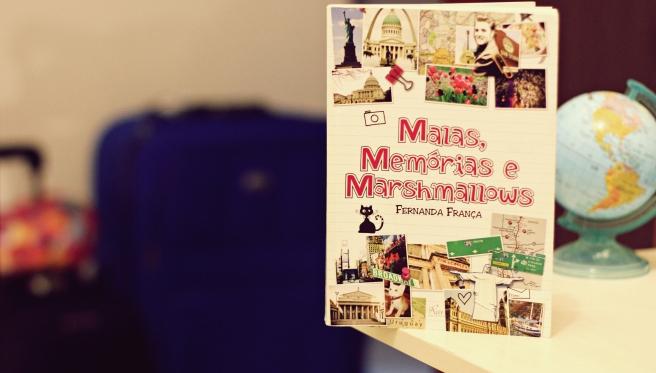 resenha livro malas memorias e marshmallows