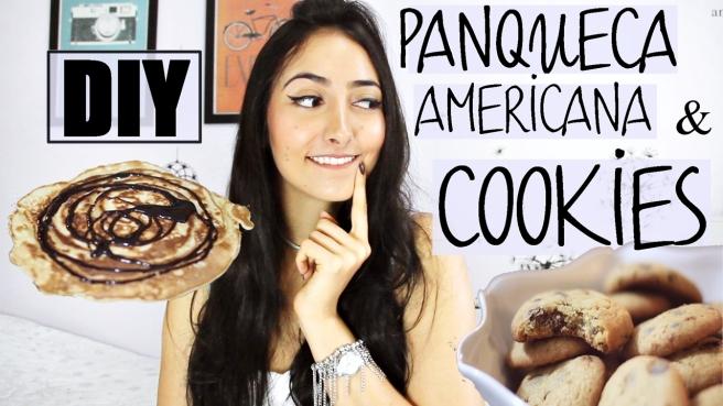 DIY cookies e panqueca americana
